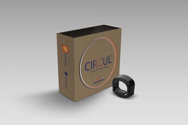CIRCUL SPO2 Ring Verpackung